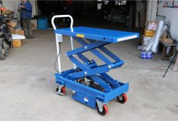 ES50D electric lift table, electric hydraulic scissor jack