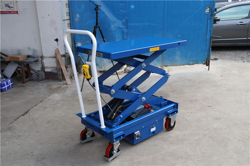 ES50D electric lift table, electric hydraulic scissor jack table