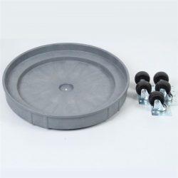 SD3-5 heavy duty plastic drum dolly