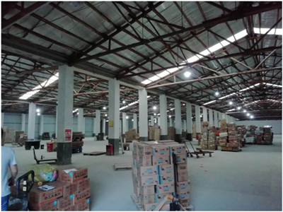 Warehouse or logistics center